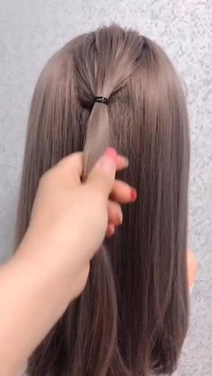 Easy Hairstyles For Long Hair, Cute Hairstyles, Braided Hairstyles, Wedding Hairstyles, Office Hairstyles, Womens Bob Hairstyles, Hairstyles For Bridesmaids, Medium Length Hairstyles, Semi Formal Hairstyles