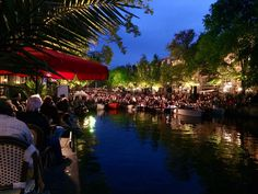 Prinsengracht Classical Music festival on Princess Canal in #Amsterdam