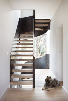 de Beauvoir House, Steel-wrapped staircase winds through Hackney extension - Cousins and Cousins Architects