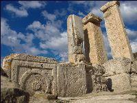 DENİZLİ TRİPOLİS-PAMUKKALE-LAODİKEİA: 17 yy. dan itibaren seyyahlar tarafından ziyaret e...