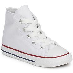 Sneaker CHUCK TAYLOR ALL STAR CORE HI White von #Converse für Kinder. Preis: 38,99 €  #kinderschuhe, #kindersneaker