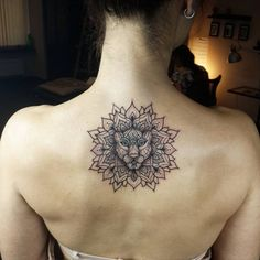 a list with 50 of the most beautiful mandala tattoo designs we've seen and the symbolism behind this sacred & timeless pattern.