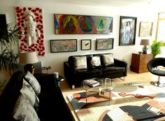 Home Art Gallery Ideas and interior design.