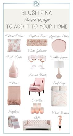 Blush Pink Is A New Home Decor Neutral
