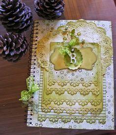 Caderno Vintage Green