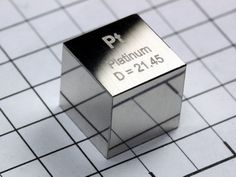 EUR 1499.00 Quantity: 4  buy now | request PLATINUM - precision density-standard cube 1cm3 - 21.45 grams incl. certificate of analysis - NEW! Please note that this itemis excluded fromreductions or special offers. Using finest materials, each density cube was lapped to 10x10x10mm(tolerance + 0.01mm) by afamouscompany especialized in noble metals.Eachoneseparately ground and polisheditrepresents the theoretical de