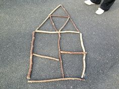A Maths Stick Picture Game Maths Eyfs, Math Enrichment, Eyfs Activities, Outdoor Activities, Counting Activities, Outdoor Education, Outdoor Learning, Home Learning, Early Education
