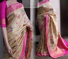 Code:1709177- PRICE INR:14500/-, Banarasi Woven Saree.