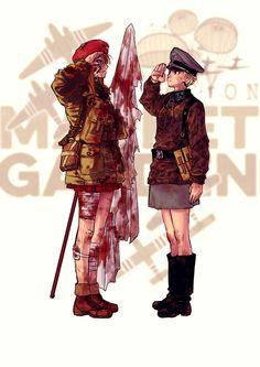 メディアツイート: 広江礼威(@hiroerei)さん | Twitter Anime Military, Military Women, Guerra Anime, Character Art, Character Design, Anime Uniform, Military Drawings, Anime Version, Female Soldier