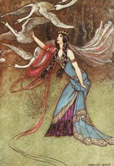 The Wild Swans - my favorite fairytale :)