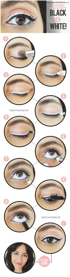 Dress up your cat eye! #makeup #tutorial