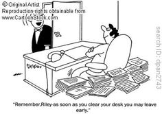 My way to a clean desk