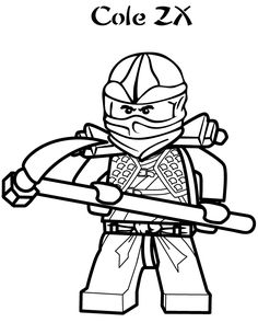 Lego Ninjago Cole Coloring Pages To Print Ninjago Coloring Pages, Food Coloring Pages, Coloring Pages For Boys, Cartoon Coloring Pages, Coloring Pages To Print, Free Printable Coloring Pages, Coloring Books, Coloring Sheets, Free Coloring
