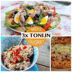 Mieks Favoriet: 3x snel tonijnrecept - Keuken♥Liefde