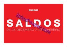 Avistamentos Saldos CODE - até 28 de Fevereiro