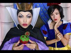 The Evil Queen Makeup Tutorial !!! - YouTube
