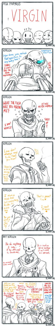 Au visit in undertale