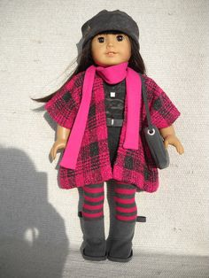 American Girl Doll Clothes  9 piece outfit with by Frenchieandme,