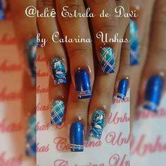 Unha diferente de Catarina Unhas. Different nail. Uña diferente. Unghie different.