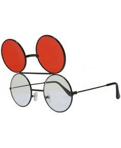 7e15f6a24bb Round Flip Up Sunglasses Black - Black - C111B30PFYT