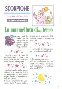 """Lo ZODIACO delle MARMELLATE   Marisa G. Aino & Vuesse Gaudio   Small-book 14 x 21 di 52 pagine allegato a """" Cip & Ciop """" n.35   The Walt ..."""