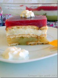 to glyko tou kalokairiou! Greek Sweets, Greek Desserts, Greek Recipes, Easy Desserts, My Recipes, Cooking Recipes, Recipies, Jello Recipes, Candy Recipes