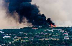 images of waldofire | The Waldo Canyon Fire in and near Colorado Springs, Colorado, has ...
