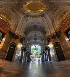 """The Palacio Barolo building, inspired by Dante Alighieri's """"Divine Comedy"""" - Buenos Aires, Argentina"""