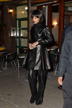 The best celebrity leather looks for your weekend outfit inspiration.
