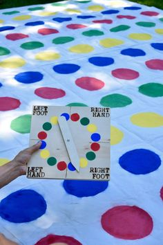 Diy twister spinner google search lets party pinterest giant twister with traditional spinner by calledandchosengames solutioingenieria Image collections