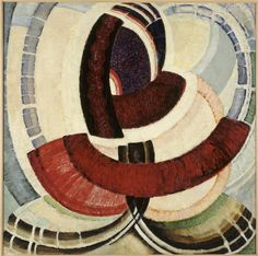 'Flowers in Embroidery' by Czech painter & graphic artist František Kupka oil on canvas, 105 x 105 cm. at the Centré Pompidou. via The Magic Lantern. Source: Painting the Universe-Kupka-Pioneer in Abstraction. Claude Monet, Abstract Painters, Abstract Art, Frantisek Kupka, Modern Art, Contemporary Art, Francis Picabia, Vincent Van Gogh, Art Walk