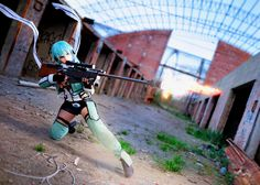 Sinon 2nd shot by Sandman-AC.deviantart.com on @DeviantArt