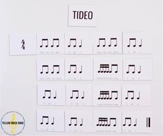 Awesome lesson ideas for the song Tideo! A folk dance, free printable rhythm, and ideas for differentiation in the music classroom.