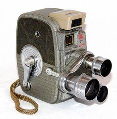 Vintage Keystone Model K-27 Rollfilm Triple Turret 8mm Movie Camera, Made In USA, Circa 1958 | by France1978
