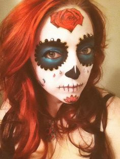 Pin for Later: 101 Real-Girl Halloween Costumes That Are Terrifyingly Gorgeous Rosy Redhead