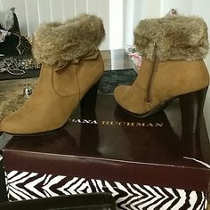 DANA BUCHMAN BOOTS FOR SALE Used one time only in really good conditions Dana Buchman Shoes Heeled Boots