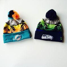 Shop your favorite NFL team gear both in-store and online at www.spzn.com #NFL #FanGear #Seahawks #Dolphins #SHOPatSPZN #BeElite