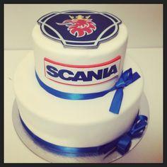 Scania cake, scaniakakku, scania kaka