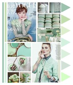 """""""mint"""" by bodangela ❤ liked on Polyvore featuring art"""