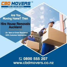 CBD Movers offers stress-free and safe house removals, home moving services at cheap prices. Choose us for cheap house movers in Auckland. Call at 0800 555 207 to book! House Removals, Office Relocation, House Movers, Moving Home, Moving And Storage, Moving Services, Good House, Auckland, 15 Years
