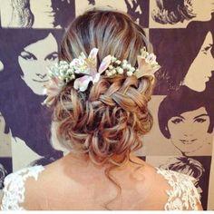 Um amor esse penteado  inspiração @blogmotherofthebride_cristina