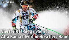 Der Salzburger Marcel Hirscher gewinnt erneut Ski Weltcup RTL Rennen in Alta Badia, am 18. Dezember 2016. Sein 97. Podestplatz! Danke und Gratulation, Marcel!   © APA/AP/Marco Trovati