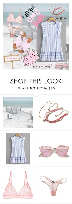 """""""kiss me"""" by hannah353 ❤ liked on Polyvore featuring WALL, Hollister Co. and Cosabella"""