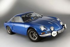 Underpowered by today's standards, the Alpine is very fast, successful and highly sought after rally champion even today. Alpine Renault, Renault Sport, Classic Sports Cars, Classic Cars, French Fancies, Alpine Car, Megane Rs, Automobile, Rally Car