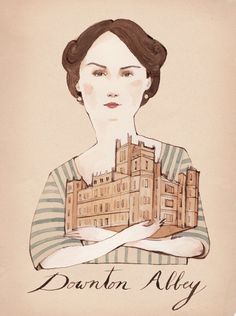 Mary from Downtown Abbey by Kelsey Garrity-Riley http://www.kgriley.com/