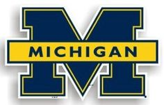 Michigan Wolverines 12 Car Magnet