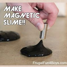 How to Make Magnetic Slime by Frugal Fun for Boys!! Fantastic recipe based (a.k.a following directions and motor skills) activity that even the boys will love to do! This is pretty cool if I do say so myself!! To learn how go to: - Like our instagram posts? Please follow us there at instagram.com/pediastaff