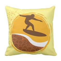 Rest your head on one of Zazzle's Surfer decorative & custom throw pillows. Outdoor Throw Pillows, Decorative Throw Pillows, Surfer Dude, Accent Pillows, Decor Pillows