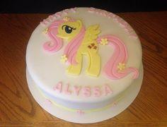 Fluttershy - My Little Pony Birthday Cake
