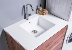 New Zealand premium luxury bathroom furniture Laundry Cabinets, Bathroom Furniture, Bathroom Inspiration, Sink, Luxury, Design, Home Decor, Sink Tops, Linen Cabinet